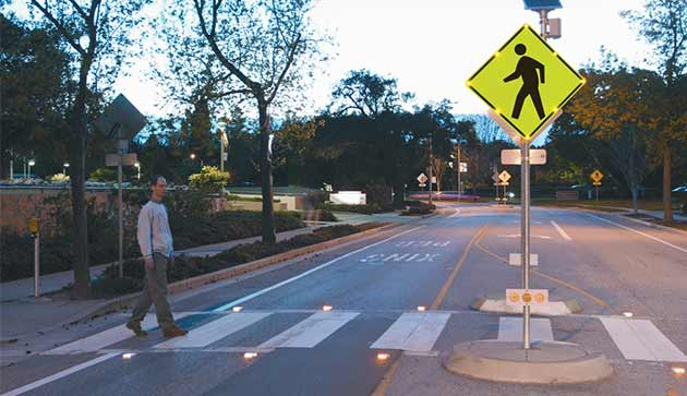 Pedestrian Crossing Monitoring System