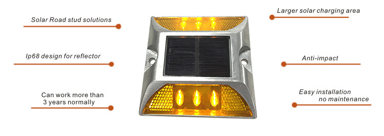 Solar road stud NK-RS-D1