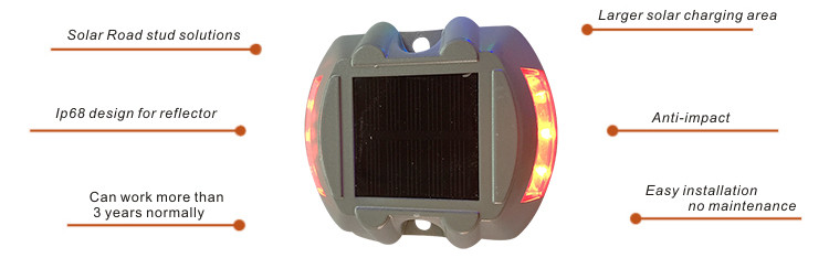 Raised solar road stud NK-RS-A1