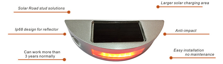 Solar road stud NK-RS-T1