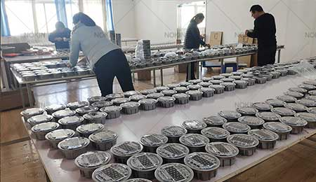 solar powered marker lights in production