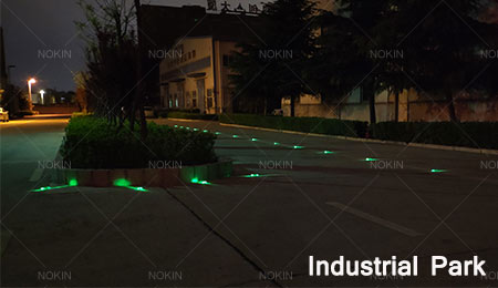 solar road markers