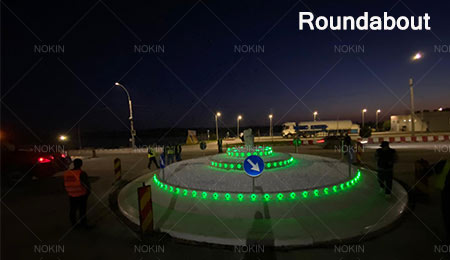 led road markers