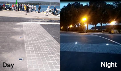 solar road studs application